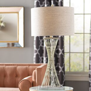 Great Price Curt Twisted 37 Table Lamp By Corrigan Studio