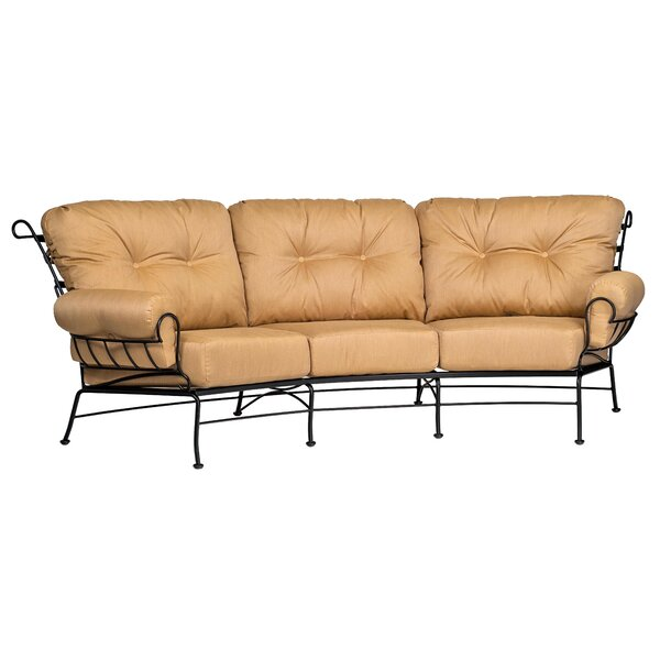 Terrace Crescent Patio Sofa by Woodard