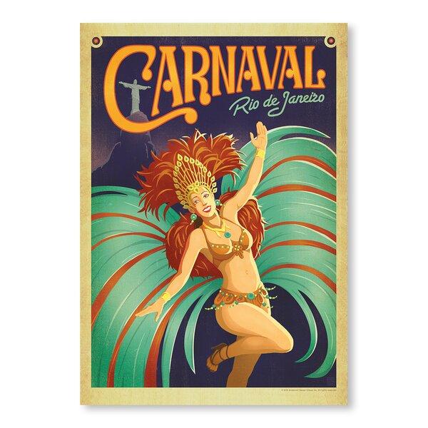 Carnaval Vintage Advertisement by East Urban Home