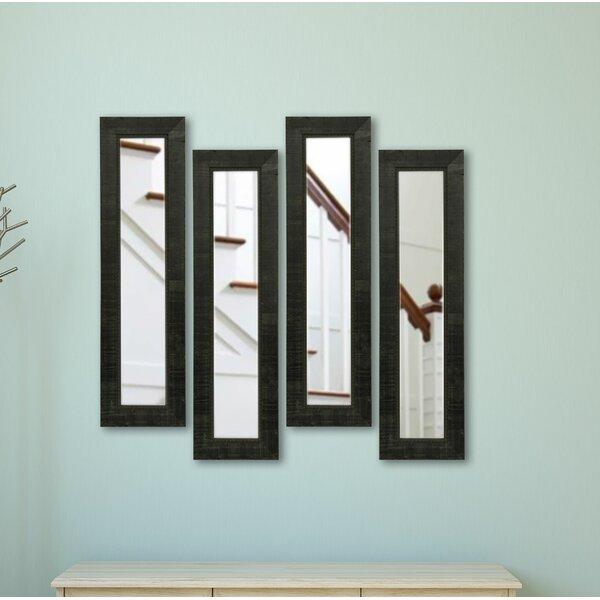 4 Piece Clairlea Panels Mirror Set (Set of 4) by Fleur De Lis Living
