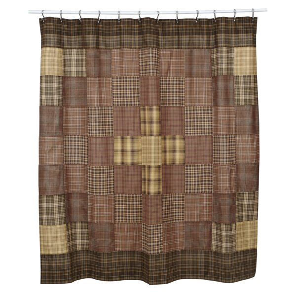 Isabell Cotton Unlined Shower Curtain by August Grove