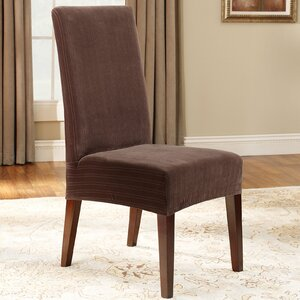 Stretch Pinstripe Dining Chair Slipcover