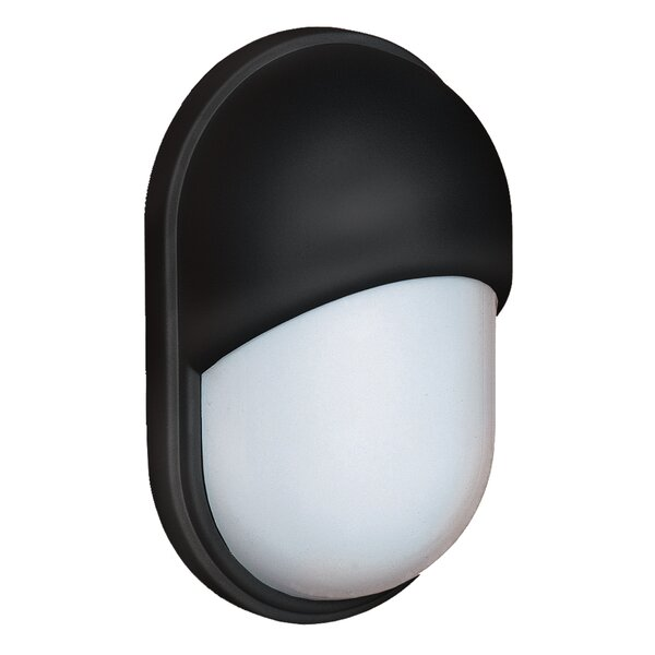 Donnie 1-Light Glossy Glass Outdoor Flush Mount by Latitude Run