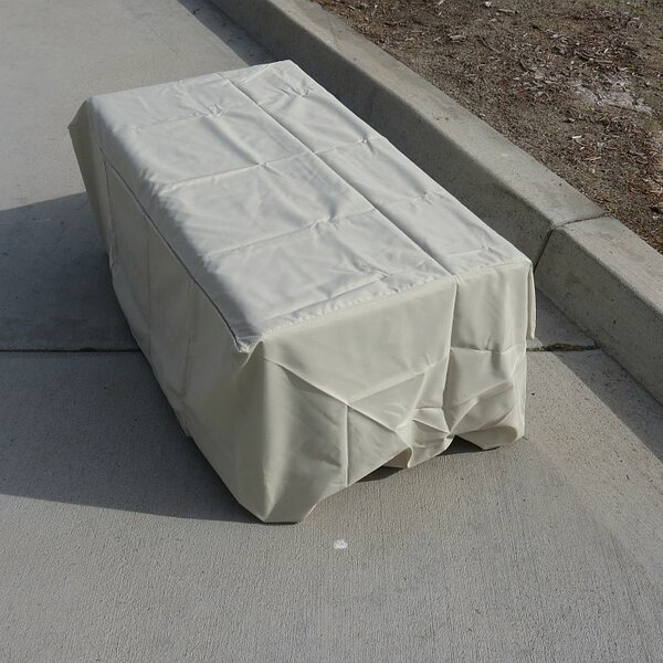 Coffee Patio Table Cover by Freeport Park