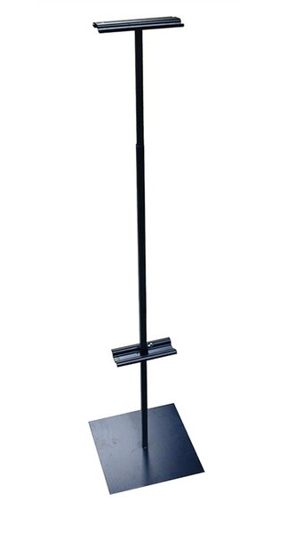 48 - 90 Vertical Adjustable Banner Stand by Pinquist Tool & Die