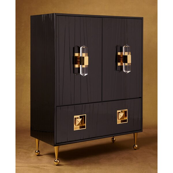 Crawford Armoire by Jonathan Adler
