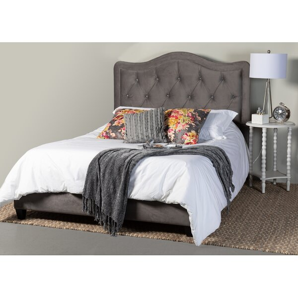 Kenwood Upholstered Panel Bed by Rosdorf Park