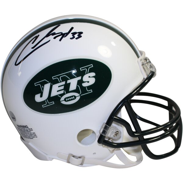 Decorative Chris Ivory Signed New York Jets Mini Helmet by Steiner Sports