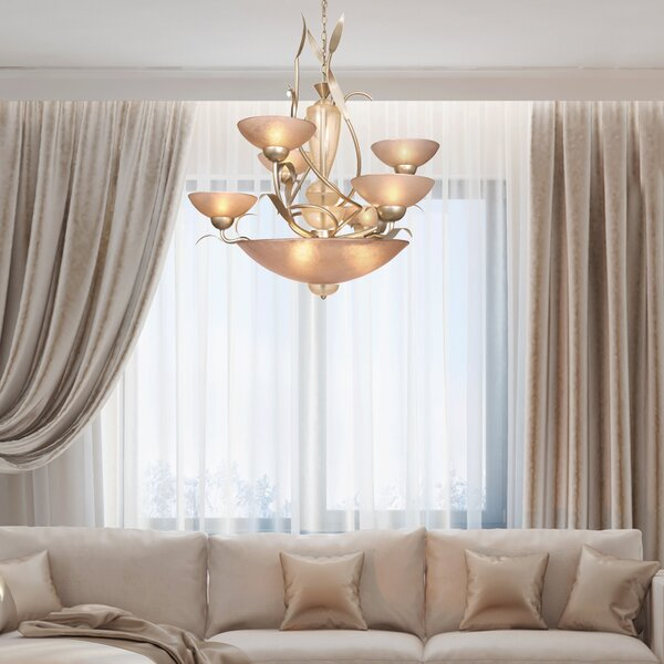 Nebeker 6-Light Shaded Chandelier by Bloomsbury Market