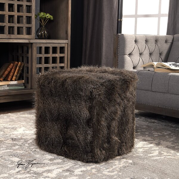 Kern Cube Ottoman by Union Rustic