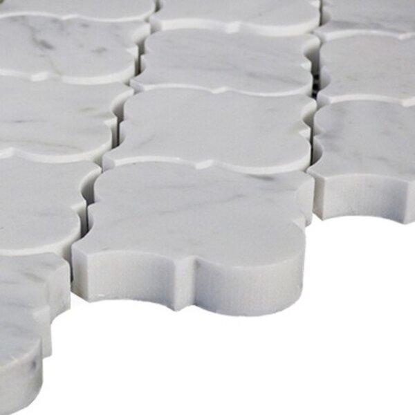 Carrara Lantern 12 x 12 Natural Stone Mosaic Sheet Tile