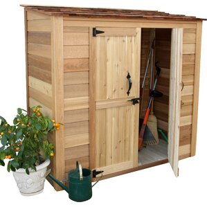 Garden Chalet 6 Ft. 3 In. W X 3 Ft. D Wooden Lean