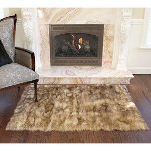 Meiman Luxury Long Fur Hand Woven Area Rug