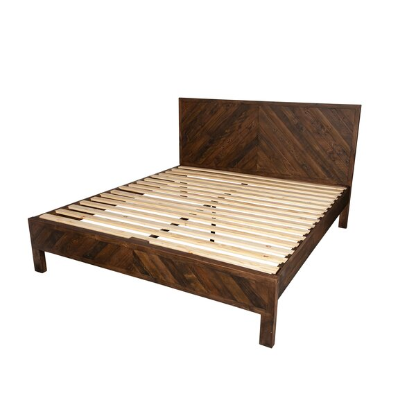 Elzada Reclaimed King Platform Bed by Loon Peak