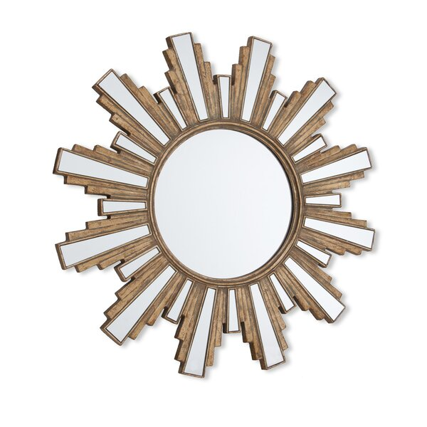 Shant Sun Wall Mirror by Everly Quinn