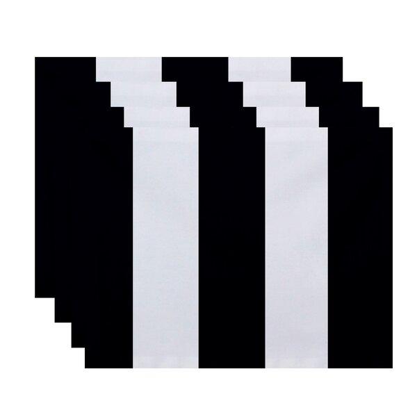 Benally Stripe Placemat (Set of 4) by Breakwater Bay