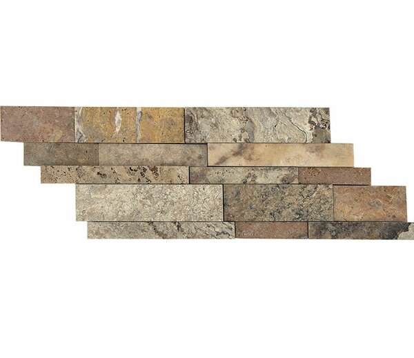 Scabos Ledger Random Sized Stone Mosaic Tile by Parvatile
