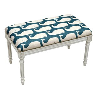Whales Wood Bench