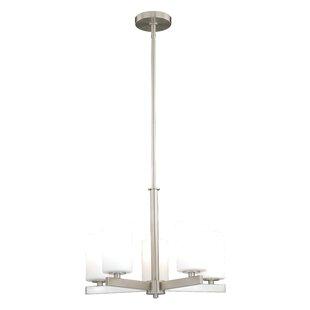 Listermann 5-Light Shaded Chandelier By Red Barrel Studio Ceiling Lights