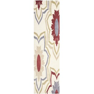 Searching for Armstrong Ivory / Multi Contemporary Rectangular Rug By Winston Porter