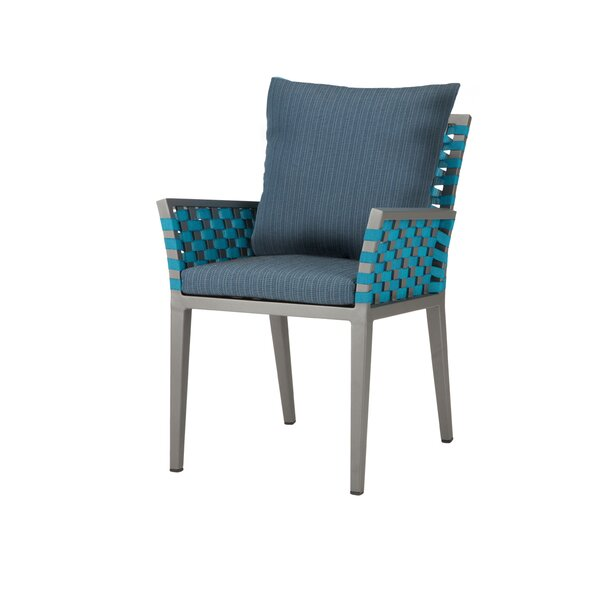 Weathers Patio Dining Chair By Bungalow Rose