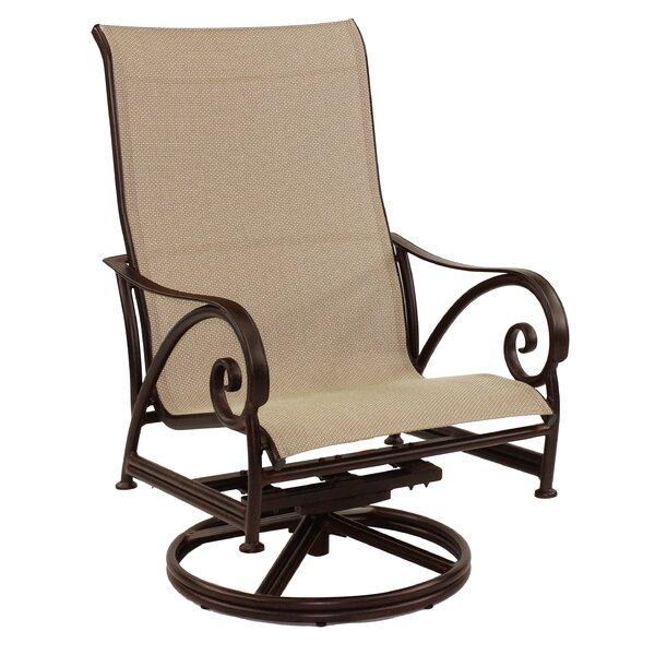 Lucerne Sling Swivel Rocking Chair by Leona