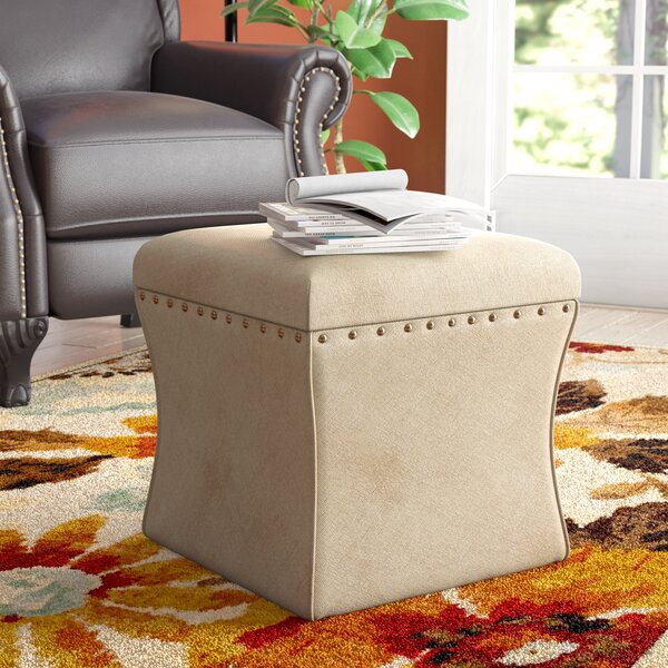 Thorton Storage Ottoman by Charlton Home
