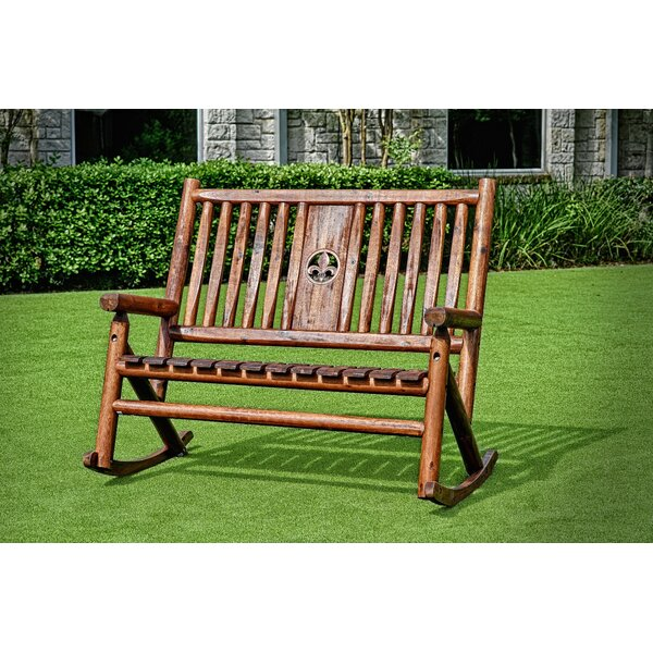 Soltis Porch Rocking Bench by Fleur De Lis Living