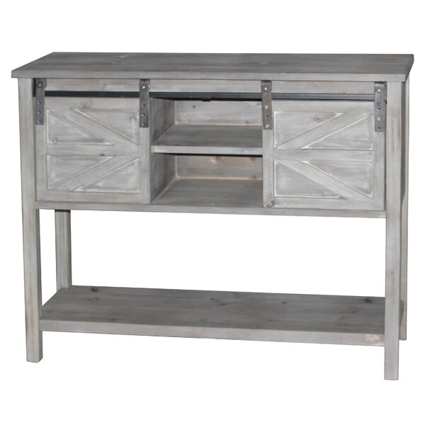 Marceline Farmhouse Console Table by Gracie Oaks