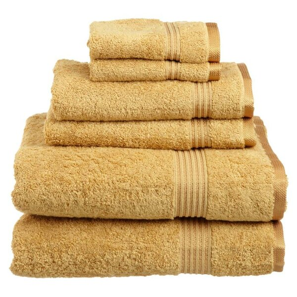 Currie 6 Piece Egyptian-Quality Cotton Towel Set by Zipcode Design