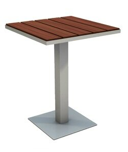 Etra Stainless Steel Coffee Table by Modern Outdoor