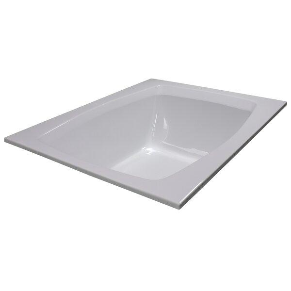 60 x 48 Soaker Bathtub by American Acrylic
