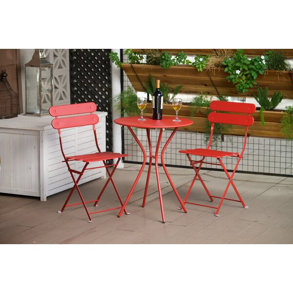 Bosch 3 Piece Bistro Set by Three Posts