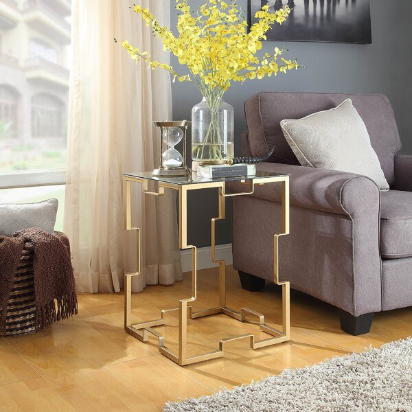 Kaidence End Table by Mercer41