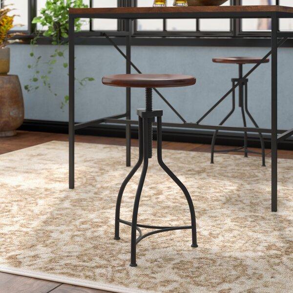 Elgin Adjustable Height Swivel Bar Stool by Trent Austin Design