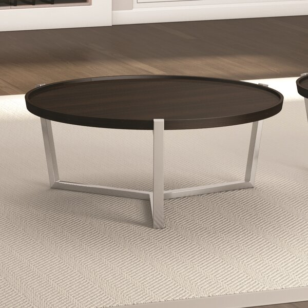 Cirque Coffee Table with Tray Top by Caravel