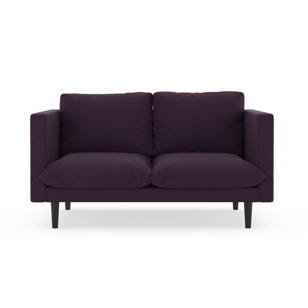 Cowie Cross Weave Loveseat by Corrigan Studio