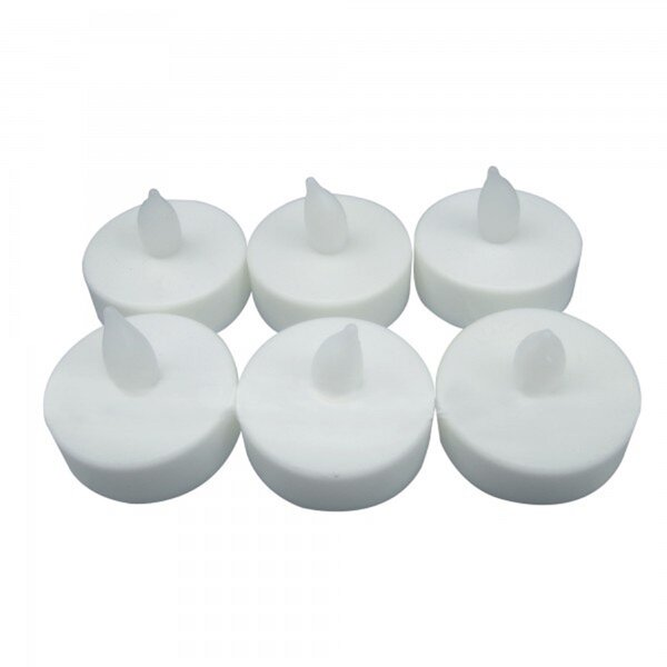 6 Piece LED Unscented Tealight Candle Set by The Holiday Aisle
