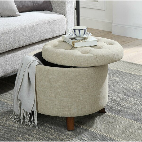 Runion Upholstered Tufted Storage Ottoman by Canora Grey