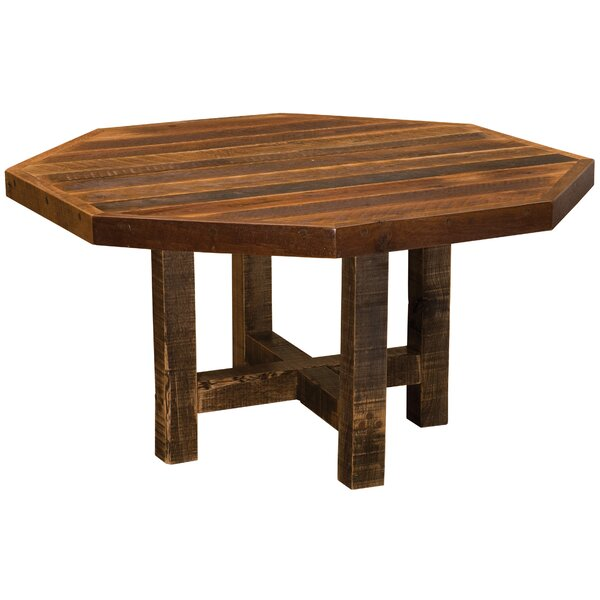 Artisan Barnwood Octagon Dining Table by Fireside Lodge