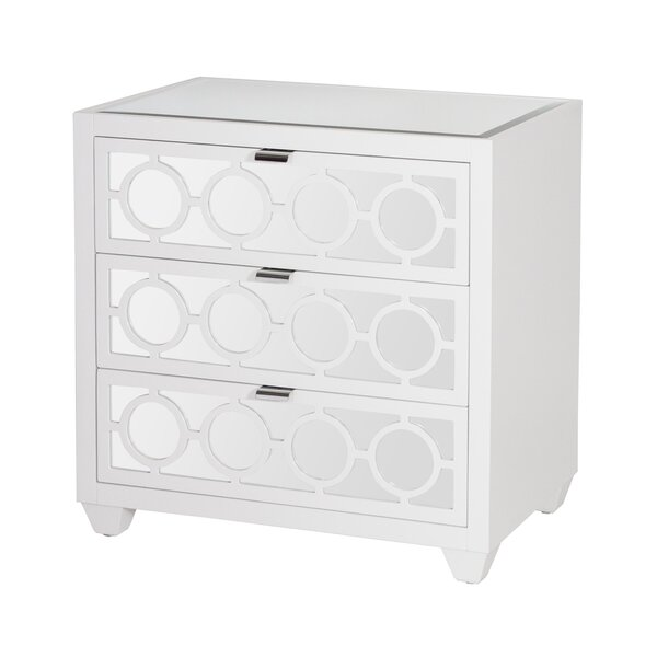 3 Drawer Bachelors Chest by Worlds Away