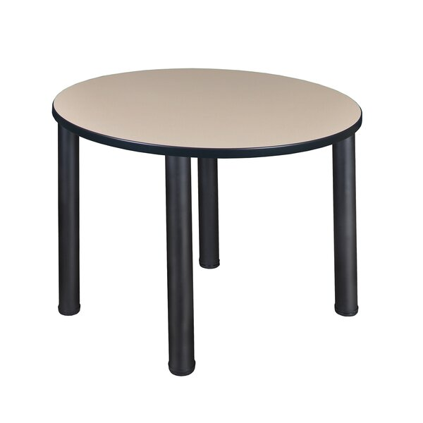 Leiser Round Breakroom Table by Symple Stuff
