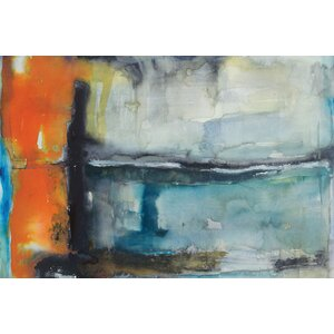 Surge Painting Print on Wrapped Canvas by East Urban Home
