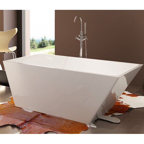 HelixBath Piraeus 59 x 29.5 Soaking Bathtub by Kardiel