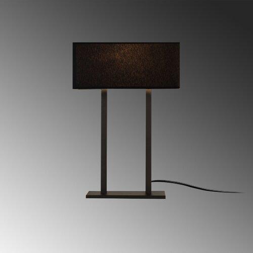 52 cm Tischleuchte Parish ClassicLiving Schirmfarbe: schwarz   Lampen > Tischleuchten > Beistelltischlampen   ClassicLiving