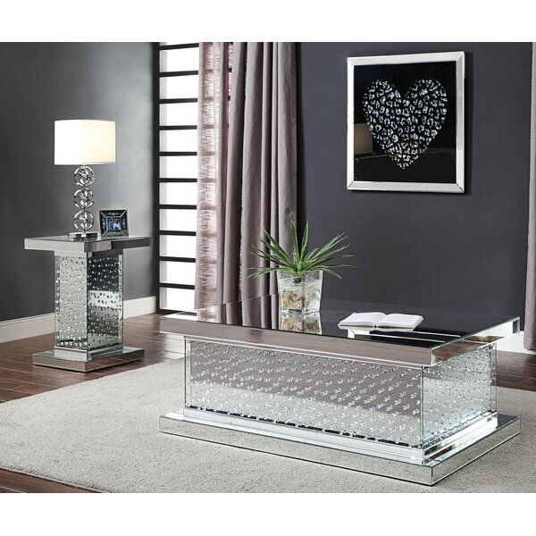 Bussard 2 Piece Coffee Table Set By Everly Quinn