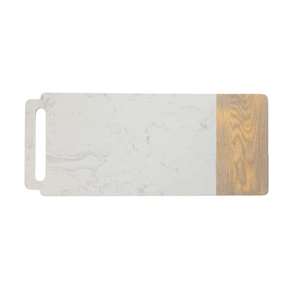 Elemental Board Platter with Handle by Maxwell & Williams