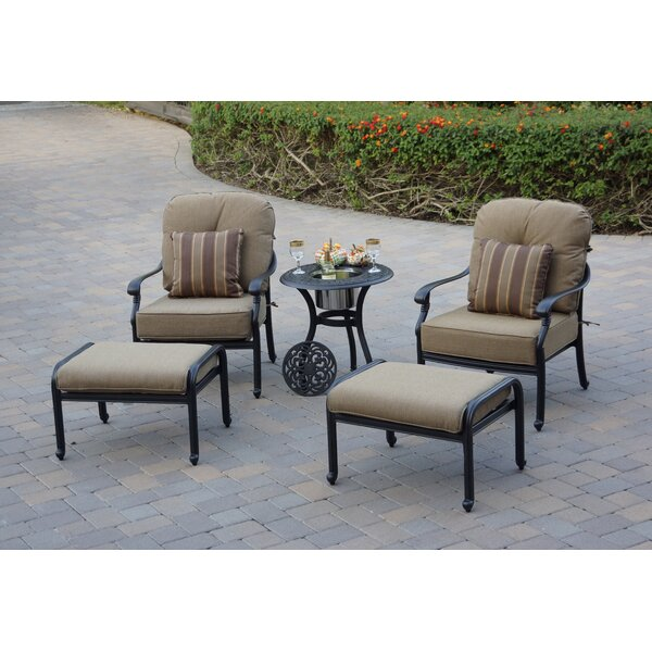 Windley 5 Piece Seating Group With Cushions By Fleur De Lis Living by Fleur De Lis Living Find