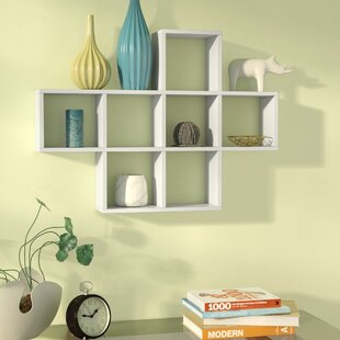 Germain Cubby Wall Shelf