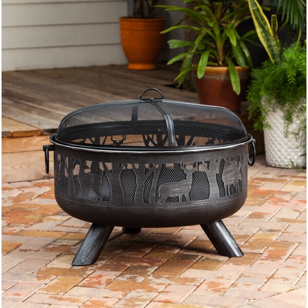 Yukon Steel Wood Burning Fire Pit by Fire Sense